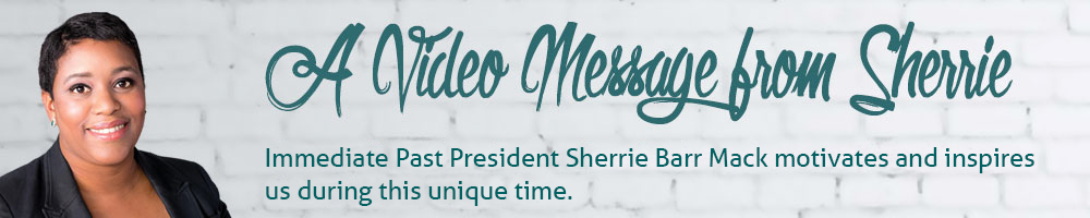 Video Message from Sherrie Barr-Mack