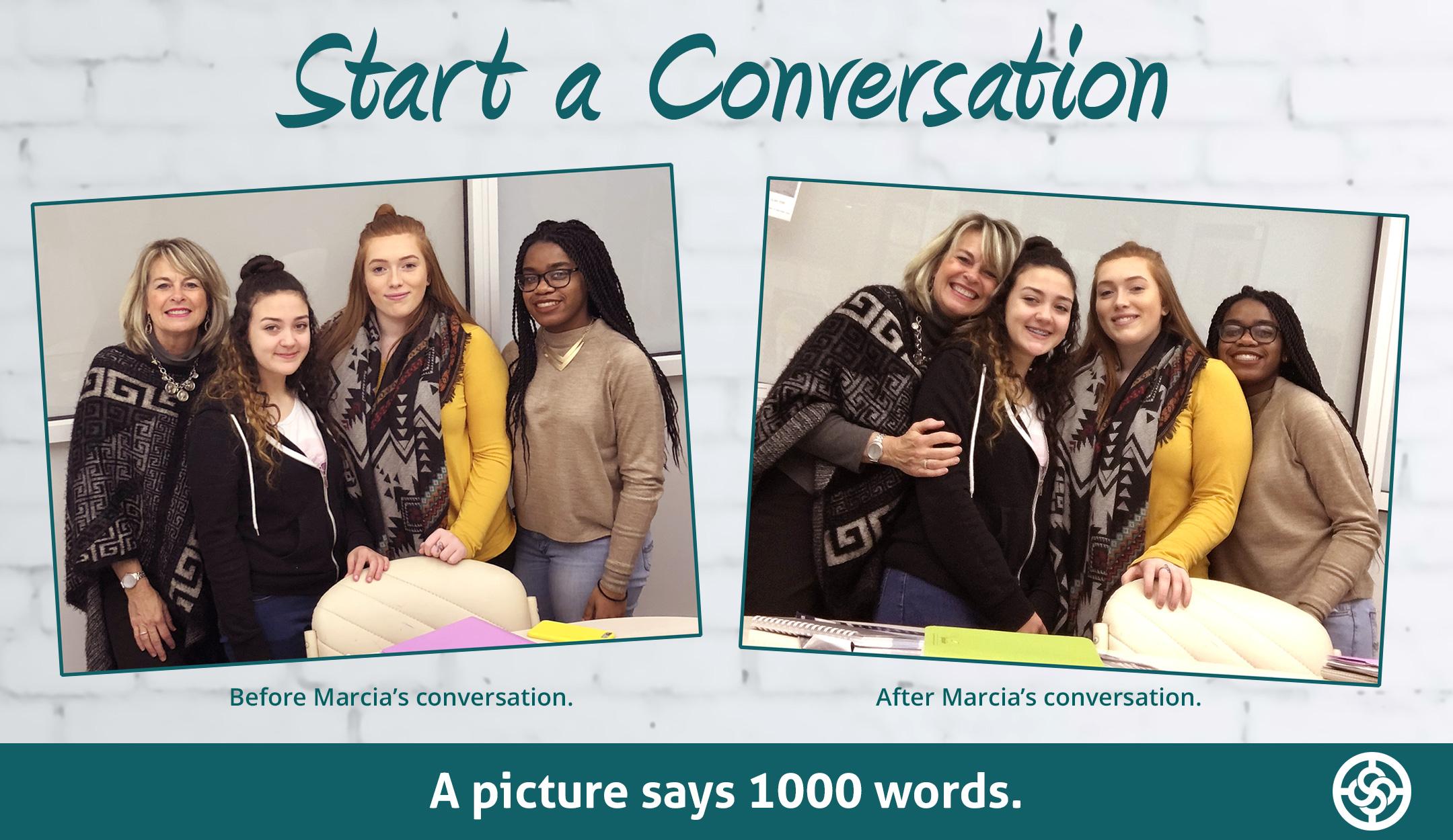 Start a conversation